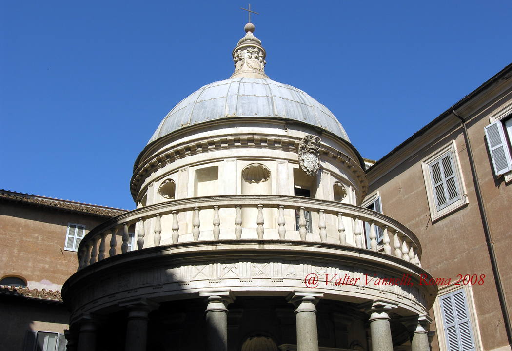 a study on the tempietto by donato bramante Donato bramante, tempietto, s pietro in montorio, rome i found more greek architecture to study ^d^ find this pin and more on architecture.