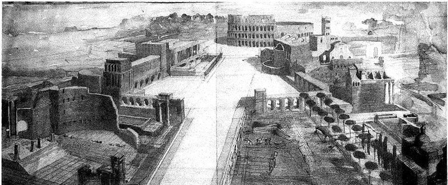Marcello piacentini la grande roma dibattiti progetti for Elenco studi di architettura roma